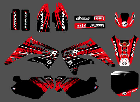 Kit Déco HONDA CR 85 2003-2012 RED