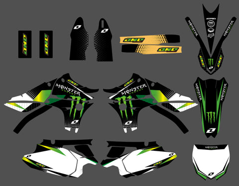 Kit Déco YAMAHA YZF 450 2010-2013 MONSTER