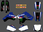 Kit déco YAMAHA YZ 80 1993-2001 BLUE MONSTER