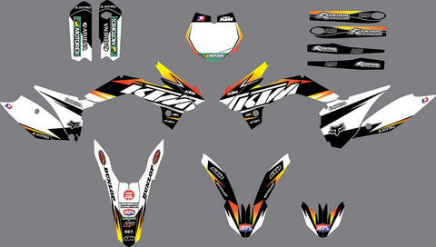 Kit Déco KTM SX 85 2013-2017 FACTORY