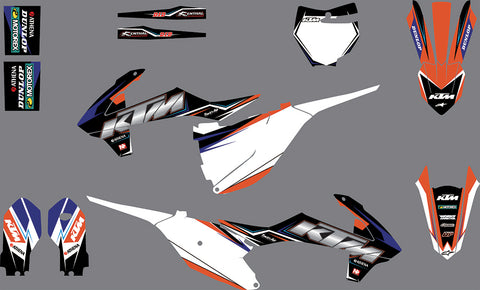 Kit Déco KTM SX 85 2018-2019 FACTORY