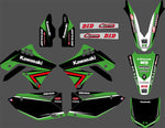 Kit Déco KAWASAKI KXF 250 2009-2012 FACTORY
