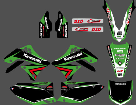 Kit Deco KAWASAKI KXF 450 2009-2011 FACTORY