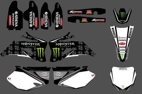 Kit Déco YAMAHA YZF 2006-2009 MONSTER