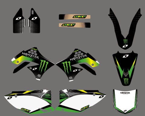 Kit Deco KAWASAKI KXF 450 2009-2011 MONSTER #2