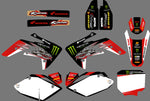 Kit Déco HONDA CRF 150 2007-2018 MONSTER RED