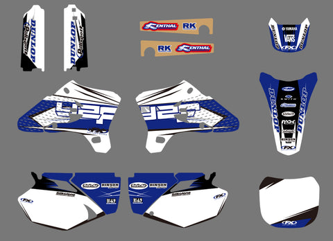 Kit Déco YAMAHA YZF 250-450 2003-2005 ORIGINAL