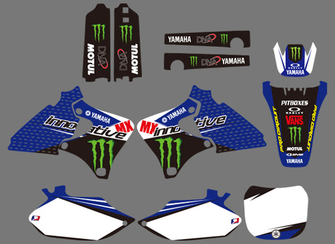 Kit Déco YAMAHA YZF 250 - 426 1998-2002 MONSTER