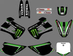 Kit Deco KAWASAKI KX 85-100 1998-2012 GREEN MONSTER #2