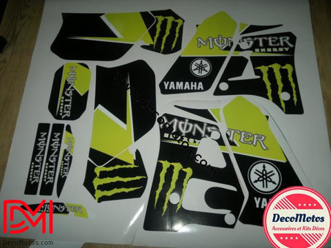 Kit Deco Yamaha Dtr 125 1992-2003 Monster E