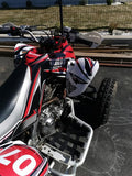 Kit déco YAMAHA YFM 700 RAPTOR 2006-2012 RED