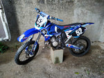 Kit déco YAMAHA YZ 125-250 2002-2012 BLUE FACTORY