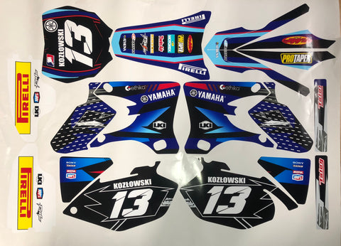 Kit Déco YAMAHA YZF 250-450 2003-2005 SIMPLE
