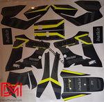 Kit Déco Aprilia Mx 125 Black And Yellow