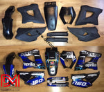 Kit Déco Aprilia Mx 125 Blue
