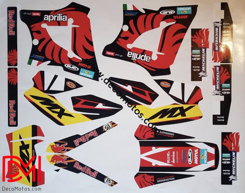 Kit Déco Aprilia Mx 125 Lion #2