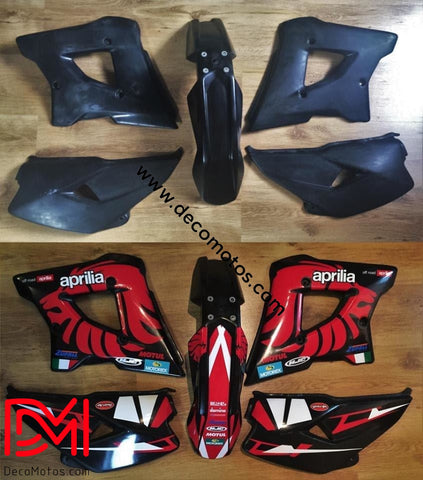 Kit Déco Aprilia Mx 125 Racing