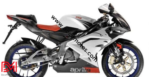Kit Déco Aprilia Rs 125 Apres 2006 Lion Blanc