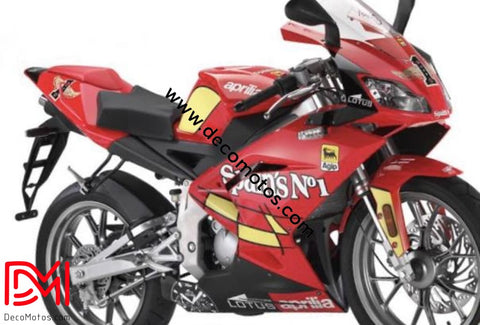 Kit Déco Aprilia Rs 50 Apres 2006 Spain