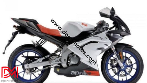 Kit Déco Aprilia Rs 50 Apres 2006 White #2