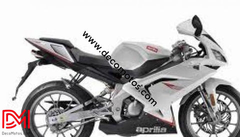Kit Déco Aprilia Rs 50 Apres 2006 White