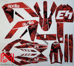 Kit Déco Aprilia Sx 50 Full Red