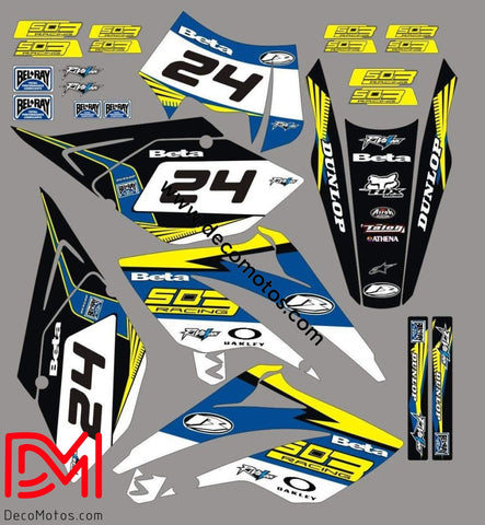 Kit Déco Beta 50 Rr 2006-2010 Factory
