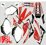 Kit Déco Beta 50 Rr 2006-2010 Italie Red