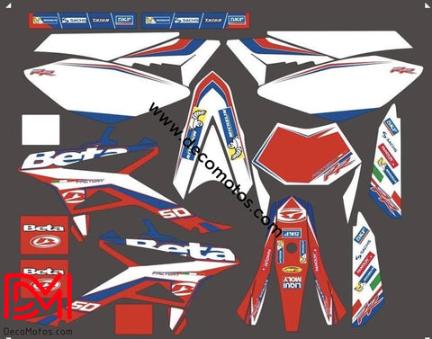 Kit Déco Beta 50 Rr 2011-2018 Origine