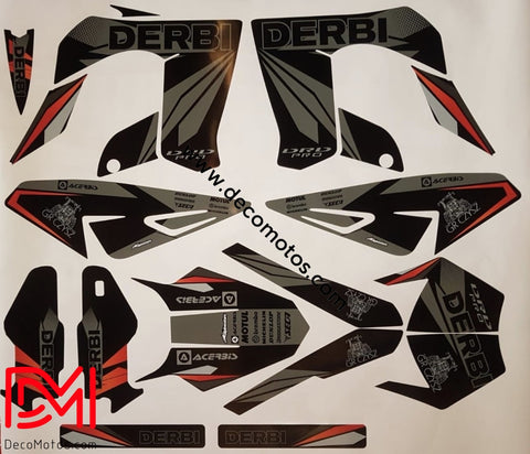 Kit Deco Derbi Drd Pro Grey