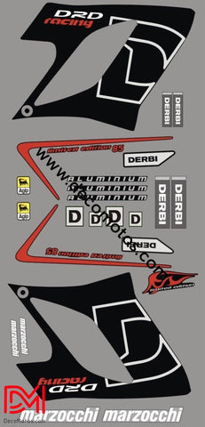 Kit Déco Derbi Drd Racing 2004-2009 Limited Edition #3