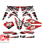 Kit Déco Derbi Xtreme / Racing Apres 2011 Alpinestar