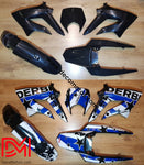 Kit Deco Derbi Xtreme / Racing Apres 2011 Blue