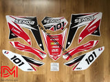 Kit Deco Derbi Xtreme / Racing Apres 2011