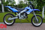 Kit Déco Derbi Xtreme Xrace Avant 2011 Origine Blue
