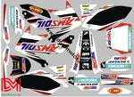 Kit Déco Honda Crf 450 2008 Ams Oil