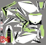 Kit Déco Honda Crf 450 2008 Origine Green