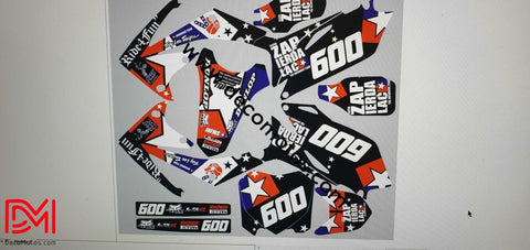 Kit Déco Honda Crf 450 2010 Ride