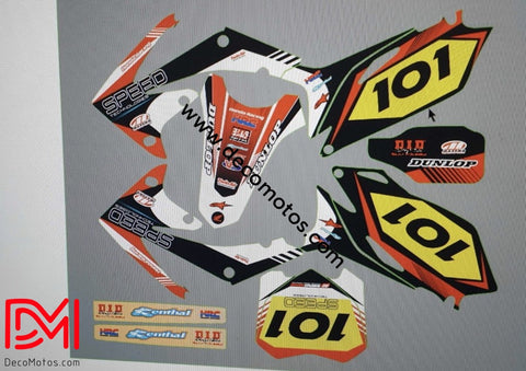Kit Déco Honda Crf 450 2010 Speed