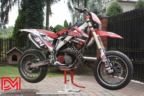 Kit Deco Honda Crm Red