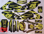 Kit Déco Husqvarna Wr / Te Sm Cr Tc 2000-2005 (Non Fluo Fluo En Option)