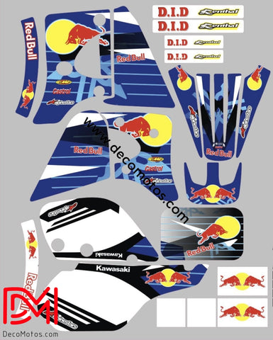 Kit Deco Kawasaki Kmx Red Bull