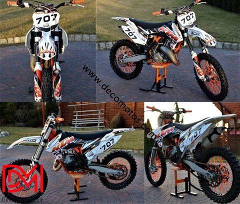 Kit Déco Ktm Sx Sxf 2013-2015 Fox