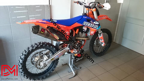 Kit Déco Ktm Sx Sxf 2013-2015 Lucas Oil