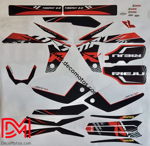 Kit Deco Rieju Mrt Racing