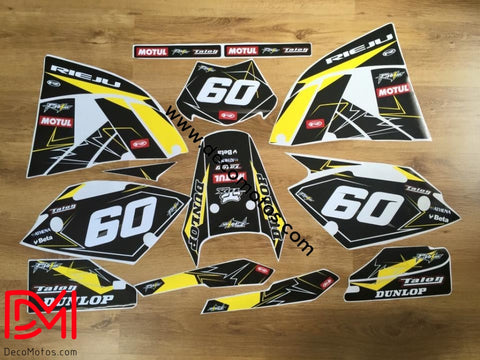 Kit Deco Rieju Smx / Mrx Yellow