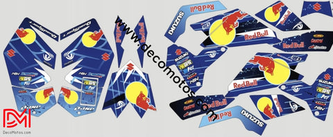 Kit Déco Suzuki Ltr 450 Red Bull