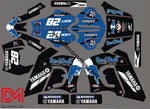 Kit Deco Yamaha Dt 50 Avant 2002 Red Bull 2