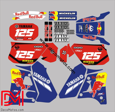 Kit Deco Yamaha Dtr 125 1992-2003 Rb