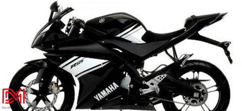 Kit Deco Yamaha R125 Black